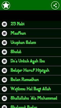 Lagu Anak Islami APK screenshot 1