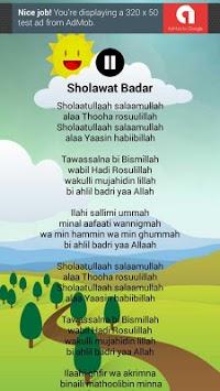 Lagu Anak Muslim & Sholawat Nabi Lengkap APK screenshot 1