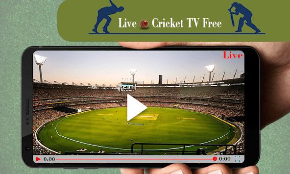 Live Cricket TV Free APK screenshot 1