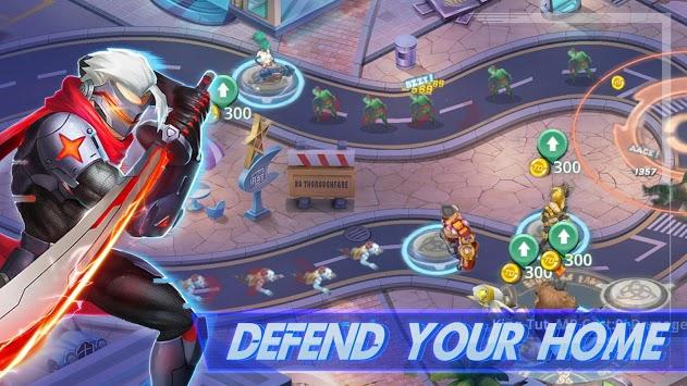 Ultimate War-Hero TD Game APK screenshot 1