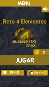 Reto 4 Elementos 🔥 APK screenshot 1