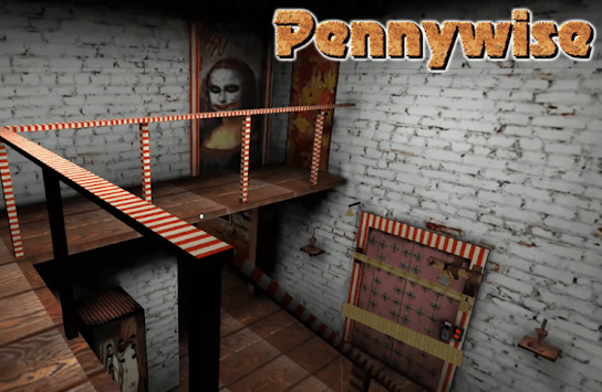 Pennywise! Evil Clown ink machine APK screenshot 1