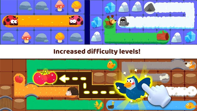 Little Panda's Pet Line Puzzle APK screenshot 1