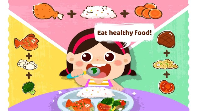 Baby Panda Care: Daily Habits APK screenshot 1