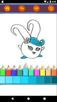 Sunny Bunnies Coloring Book - Kids Game APK screenshot 1