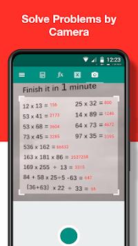 Math Calculator Plus - Scan Math, Solve by Camera APK screenshot 1