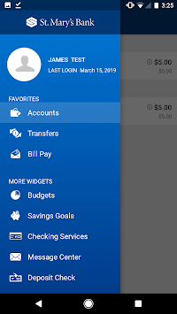 St. Mary's Bank Mobile Banking APK screenshot 1