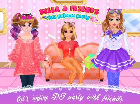 Bella Pyjama Party Friends House APK screenshot 1