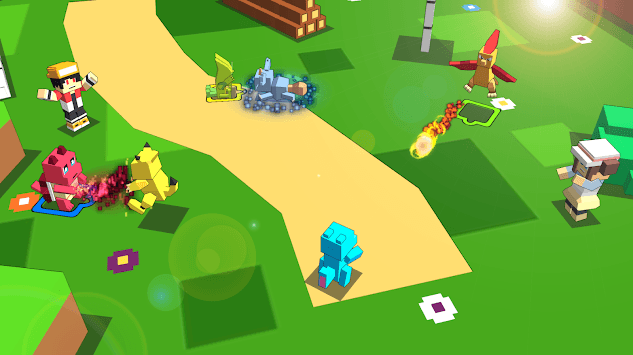 Pixelmon World: Trainer Adventure APK screenshot 1