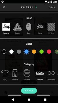 BUMP - Buy & Sell Streetwear APK screenshot 1