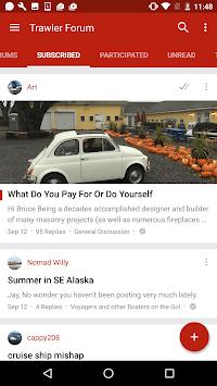 Trawler Forums APK screenshot 1