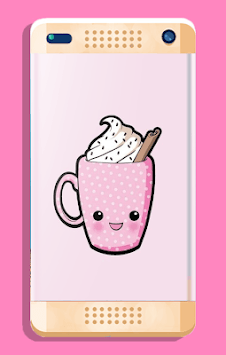 Cute Food Wallpaper APK screenshot 1