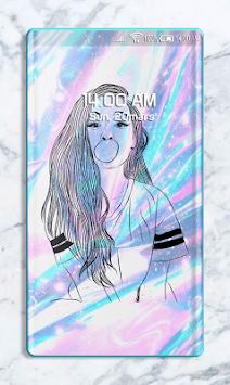 Holographic Wallpaper APK screenshot 1