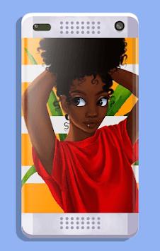 Melanin wallpapers: Girly, Cute, Girls APK screenshot 1