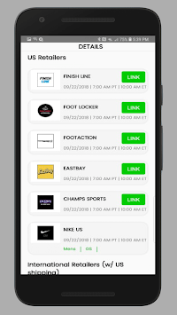 SOLE LINKS APK screenshot 1