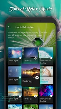 Soothing Music and Guided Meditaiton - Oasis APK screenshot 1