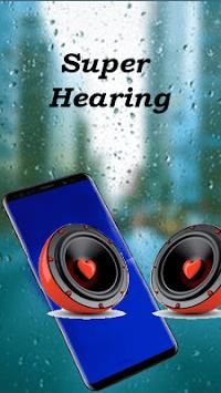 Sound amplifier listening device super hearing APK screenshot 1