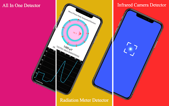 All Hidden - Spy Device Detector Free APK screenshot 1