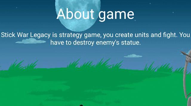 Stick Game War: Question Legacy APK screenshot 1