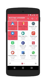 Multi App Uninstaller - Uninstall Multiple Apps APK screenshot 1