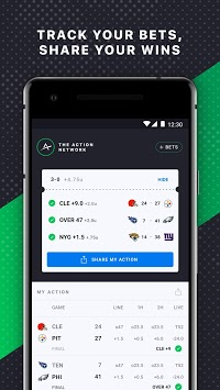 The Action Network: Sports Scores & Live Tracker APK screenshot 1