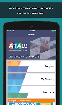 ATA Conferences APK screenshot 1