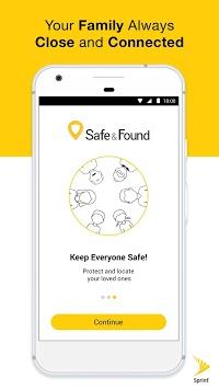 Safe & Found APK screenshot 1