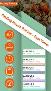 Fasting Hours Tracker - Fast Timer APK screenshot 1