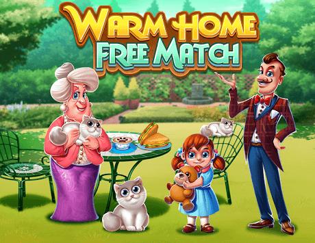 Warm Home Free Match APK screenshot 1