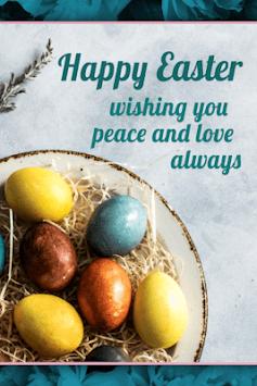 Happy Easter Greetings APK screenshot 1
