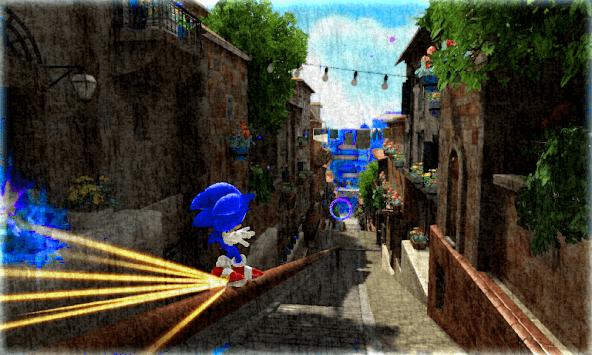 Soni c Jungle Adventures racing APK screenshot 1