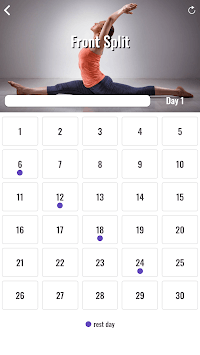 30 Day Splits Challenge APK screenshot 1