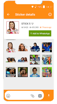 Familia Peluche Stickers for WhatsApp 2019 APK screenshot 1