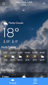 Weather Forecast (Radar Weather Map) APK screenshot 1