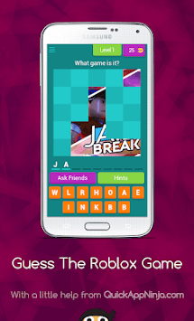 Guess The Roblox Game APK screenshot 1