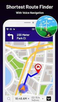 Street View: My Location,GPS Coordinates Live Maps APK screenshot 1