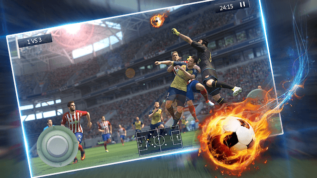 Football Match Simulation Game APK screenshot 1