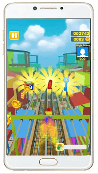 Subway Train Surf : 2019 APK screenshot 1