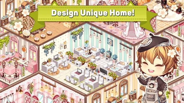 Kawaii Home Design - House Decorating Game APK screenshot 1
