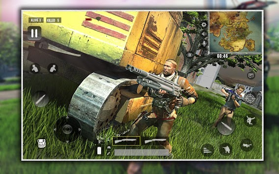 Squad Survival Free Fire Battlegrounds 3D APK screenshot 1