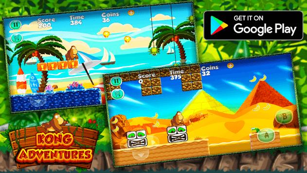 Super Kong In The Island Of Adventures APK screenshot 1