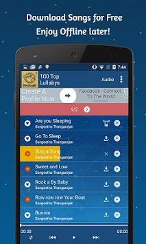 100 Top Lullabys APK screenshot 1