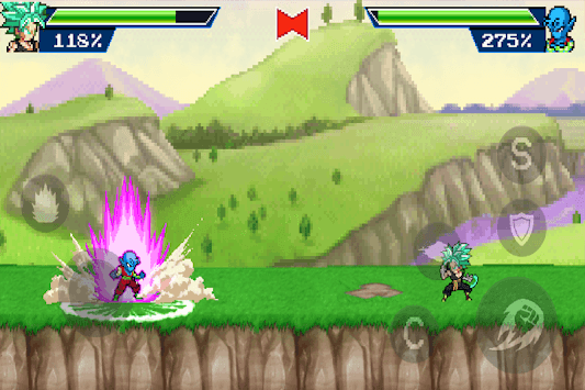 Dragon Champions Warriors: Legend Battle Fight APK screenshot 1