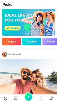 PickU - Cutout & Photo Editor APK screenshot 1