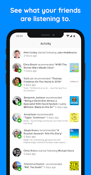 Swoot – Podcasts with friends :) APK screenshot 1