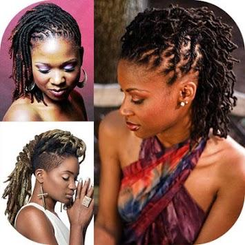 Black Woman Dreadlocks Hairstyle APK screenshot 1