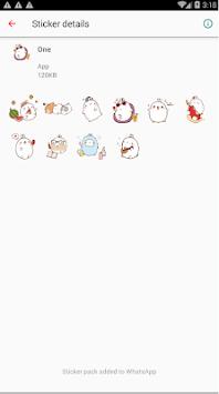 WAStickerApps - Cute Stickers for WhatsApp APK screenshot 1