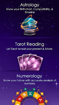 Astrology, Tarot Cards Reading & Numerology Number APK screenshot 1