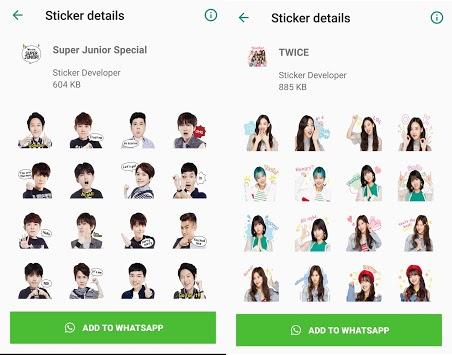 WAStickerApps Korean Idol Sticker for WhatsApp APK screenshot 1