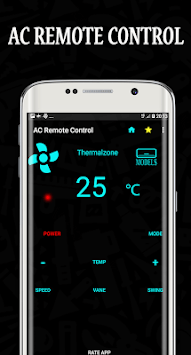 AC Remote Control Universal APK screenshot 1